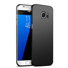 Coque Plastique Rigide Mat M05 pour Samsung Galaxy S7 Edge G935F Noir
