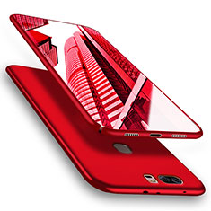 Coque Plastique Rigide Mat M06 pour Huawei Honor V8 Rouge