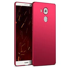 Coque Plastique Rigide Mat M06 pour Huawei Mate 8 Rouge