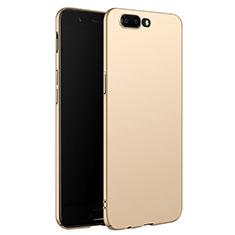 Coque Plastique Rigide Mat M06 pour OnePlus 5 Or
