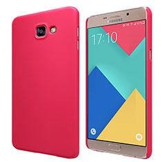 Coque Plastique Rigide Mat M06 pour Samsung Galaxy A9 Pro (2016) SM-A9100 Rouge