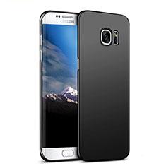 Coque Plastique Rigide Mat M06 pour Samsung Galaxy S7 Edge G935F Noir