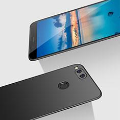 Coque Plastique Rigide Mat M07 pour Huawei Honor Play 7X Noir