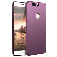 Coque Plastique Rigide Mat M07 pour Huawei Honor V8 Violet