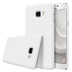 Coque Plastique Rigide Mat M08 pour Samsung Galaxy C5 SM-C5000 Blanc