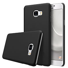 Coque Plastique Rigide Mat M08 pour Samsung Galaxy C7 SM-C7000 Noir