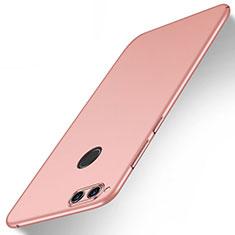 Coque Plastique Rigide Mat M09 pour Huawei Honor 7X Or Rose