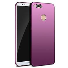 Coque Plastique Rigide Mat M09 pour Huawei Honor 7X Violet