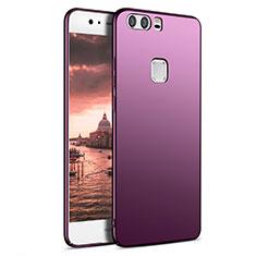 Coque Plastique Rigide Mat M09 pour Huawei P9 Violet