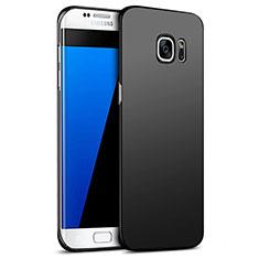 Coque Plastique Rigide Mat M09 pour Samsung Galaxy S7 Edge G935F Noir