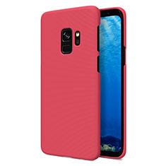 Coque Plastique Rigide Mat M09 pour Samsung Galaxy S9 Rouge