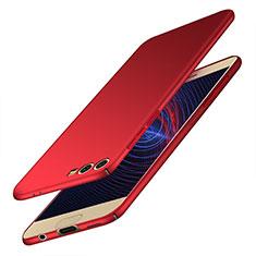 Coque Plastique Rigide Mat M10 pour Huawei Honor 9 Premium Rouge