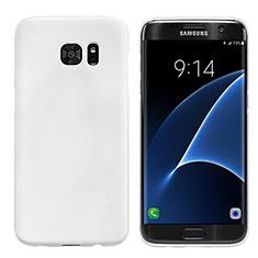 Coque Plastique Rigide Mat M10 pour Samsung Galaxy S7 Edge G935F Blanc