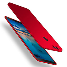 Coque Plastique Rigide Mat M12 pour Huawei Honor Play 7X Rouge