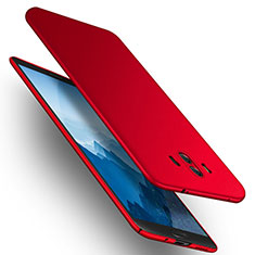 Coque Plastique Rigide Mat M14 pour Huawei Mate 10 Rouge