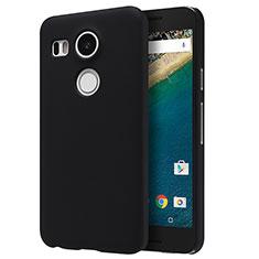 Coque Plastique Rigide Mat P01 pour Google Nexus 5X Noir