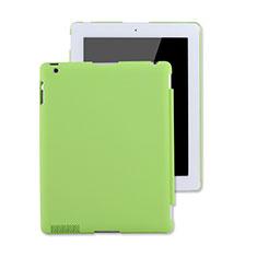 Coque Plastique Rigide Mat pour Apple iPad 3 Vert