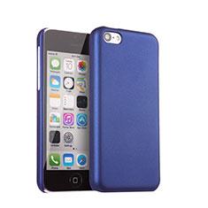 Coque Plastique Rigide Mat pour Apple iPhone 5C Bleu