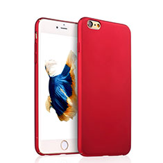 Coque Plastique Rigide Mat pour Apple iPhone 6 Plus Rouge