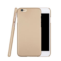 Coque Plastique Rigide Mat pour Apple iPhone 6S Or