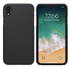Coque Plastique Rigide Mat pour Apple iPhone XR Noir