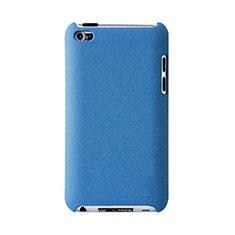Coque Plastique Rigide Mat pour Apple iPod Touch 4 Bleu Ciel