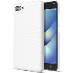 Coque Plastique Rigide Mat pour Asus Zenfone 4 Max ZC554KL Blanc