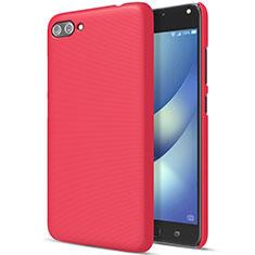 Coque Plastique Rigide Mat pour Asus Zenfone 4 Max ZC554KL Rouge