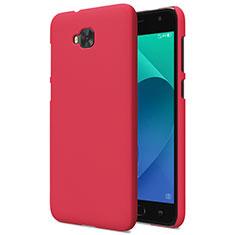 Coque Plastique Rigide Mat pour Asus Zenfone 4 Selfie ZD553KL Rouge