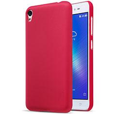 Coque Plastique Rigide Mat pour Asus Zenfone Live ZB501KL Rouge