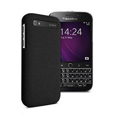 Coque Plastique Rigide Mat pour Blackberry Classic Q20 Noir