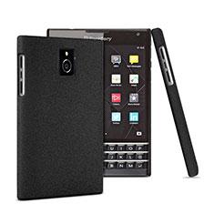 Coque Plastique Rigide Mat pour Blackberry Passport Q30 Noir