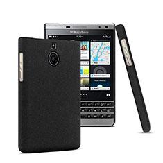 Coque Plastique Rigide Mat pour Blackberry Passport Silver Edition Noir