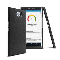 Coque Plastique Rigide Mat pour Blackberry Priv Noir