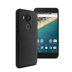 Coque Plastique Rigide Mat pour Google Nexus 5X Noir