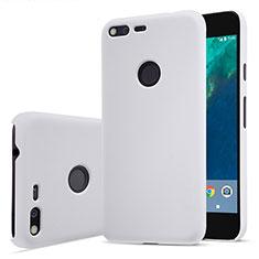 Coque Plastique Rigide Mat pour Google Pixel Blanc