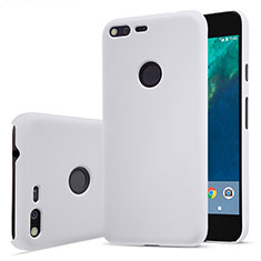 Coque Plastique Rigide Mat pour Google Pixel XL Blanc