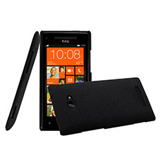 Coque Plastique Rigide Mat pour HTC 8X Windows Phone Noir