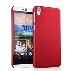 Coque Plastique Rigide Mat pour HTC Desire 826 826T 826W Rouge