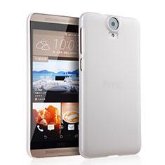 Coque Plastique Rigide Mat pour HTC One E9 Plus Blanc