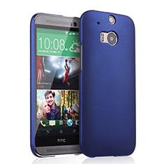 Coque Plastique Rigide Mat pour HTC One M8 Bleu