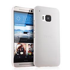 Coque Plastique Rigide Mat pour HTC One M9 Blanc