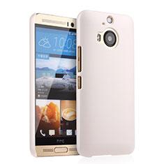 Coque Plastique Rigide Mat pour HTC One M9 Plus Blanc