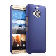 Coque Plastique Rigide Mat pour HTC One M9 Plus Bleu