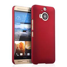 Coque Plastique Rigide Mat pour HTC One M9 Plus Rouge