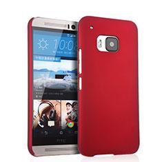 Coque Plastique Rigide Mat pour HTC One M9 Rouge