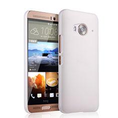 Coque Plastique Rigide Mat pour HTC One Me Blanc