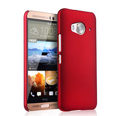 Coque Plastique Rigide Mat pour HTC One Me Rouge