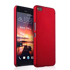 Coque Plastique Rigide Mat pour HTC One X9 Rouge
