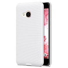 Coque Plastique Rigide Mat pour HTC U Play Blanc
